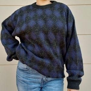 Vintage Jantzen knit grandpa sweater